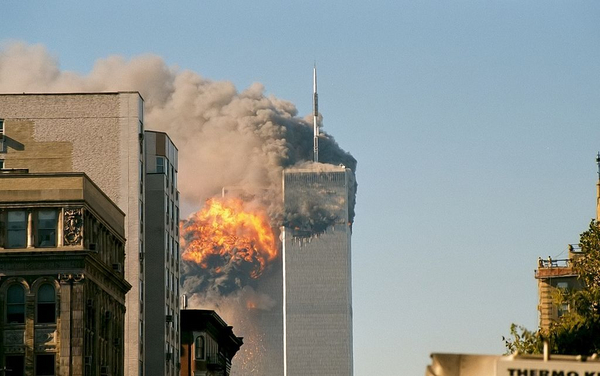 1024px UA Flight 175 hits WTC south tower 9 11