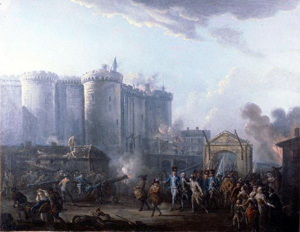 775px Lallemand   Arrestation du gouverneur de la Bastille   1790
