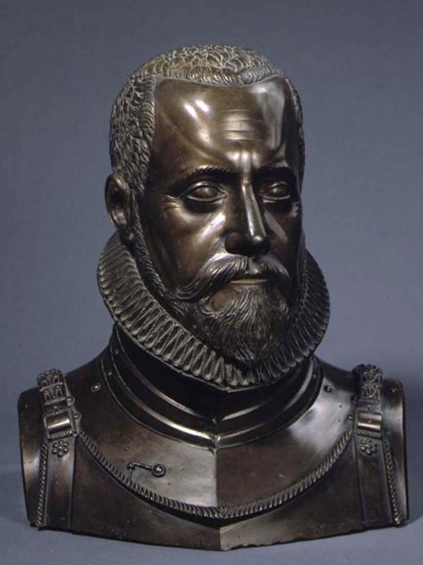 Buste  J G  van der Schardt i 1578 79  Rosenborg Slot