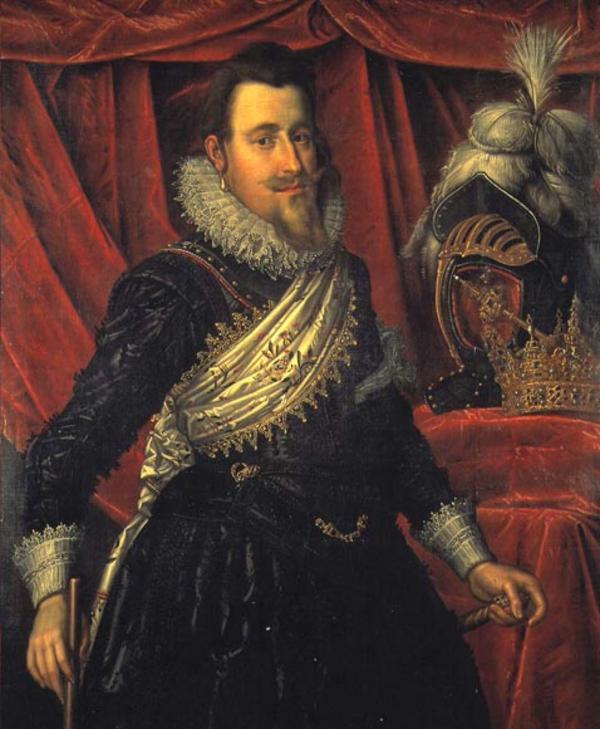 Christian 4  Pieter Isaacsz  ca  1612  Rosenborg Slot