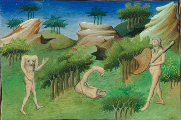 Libro de las Maravillas Livre des merveilles Book of the marvels of the world Fol 29v Mythical creatures wiki