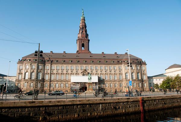 Christiansborg Kopenhamn Danmark  Johannes Jansson