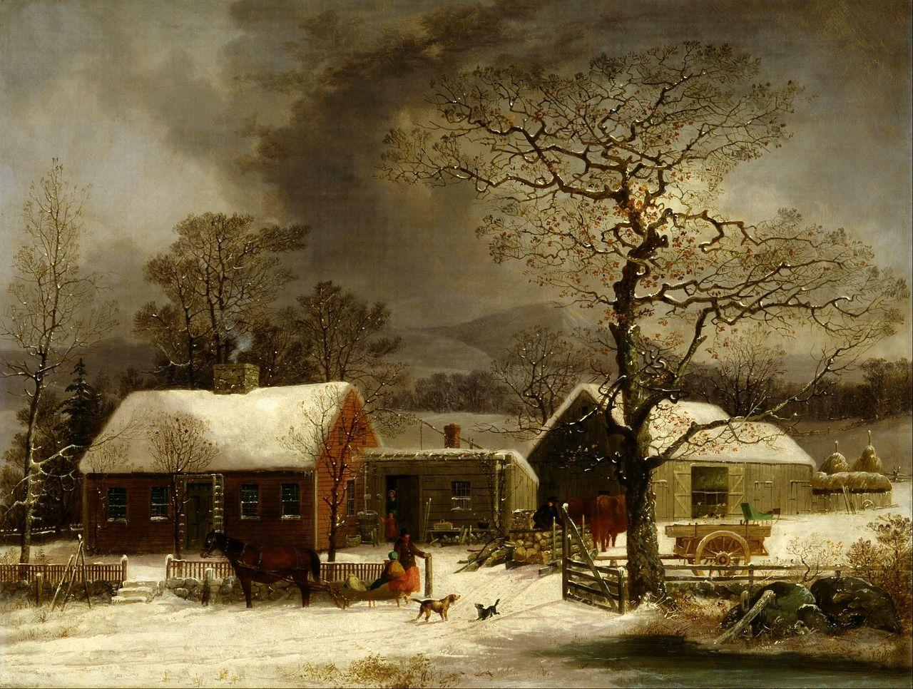 Jul På Landet Omkring 1900